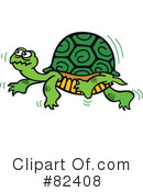 Royalty-Free (RF) turtle Clipart Illustration #82408
