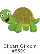 Royalty-Free (RF) Turtle Clipart Illustration #85291