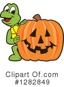 Turtle Mascot Clipart #1282849 by Toons4Biz