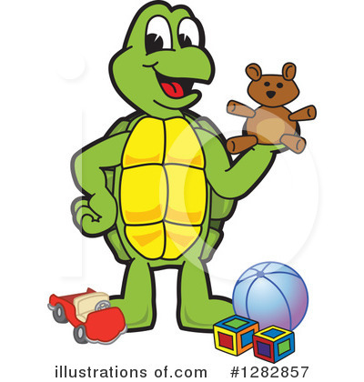 Turtle Clipart #1282857 by Toons4Biz