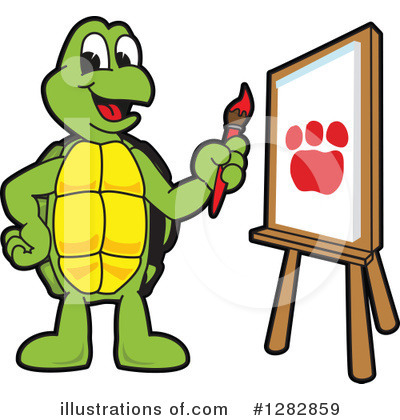 Turtle Clipart #1282859 by Toons4Biz