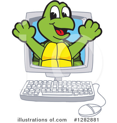 Turtle Clipart #1282881 by Toons4Biz
