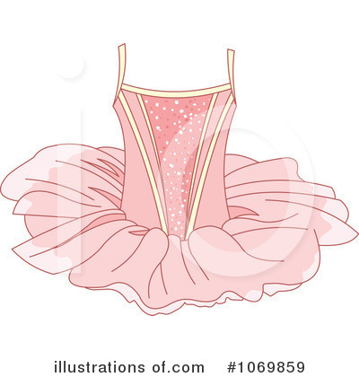 Ballerina Clipart #1069859 by Pushkin