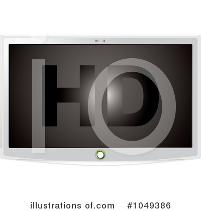 Television Clipart #1049386 by michaeltravers