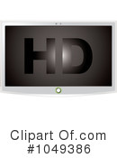 Royalty-Free (RF) Tv Clipart Illustration #1049386