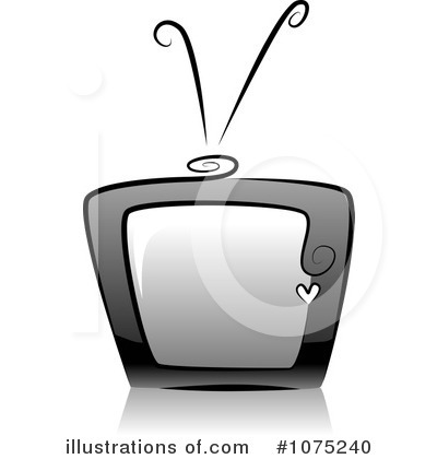 Tv Clipart #1075240 by BNP Design Studio