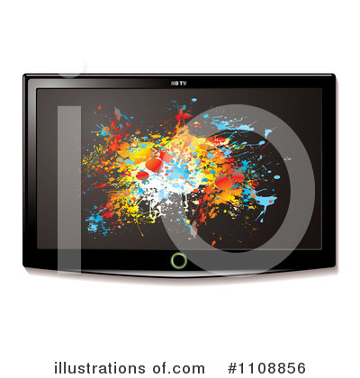 Tv Clipart #1108856 by michaeltravers