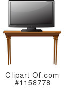 Tv Clipart #1158778 by Graphics RF