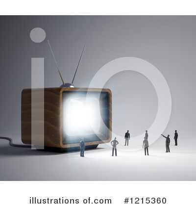 Tv Clipart #1215360 by Mopic