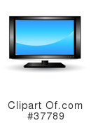 Royalty-Free (RF) Tv Clipart Illustration #37789