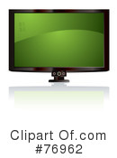 Royalty-Free (RF) Tv Clipart Illustration #76962