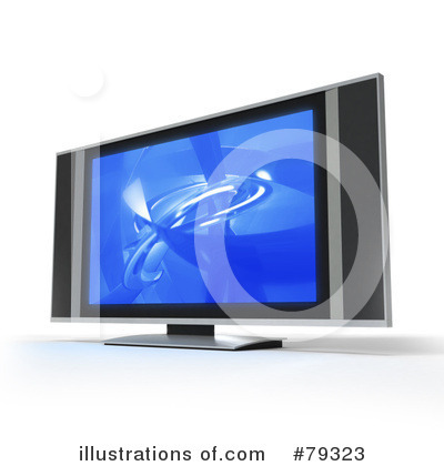 Royalty-Free (RF) Tv Clipart Illustration by Frank Boston - Stock Sample #79323