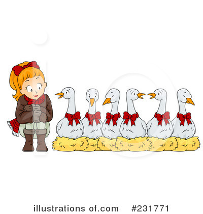 Goose Clipart #231771 by BNP Design Studio