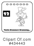 Twelve Days Of Christmas Clipart #434443