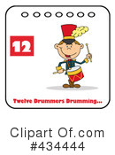 Twelve Days Of Christmas Clipart #434444