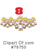 Twelve Days Of Christmas Clipart #79750