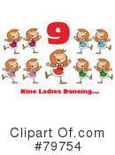Twelve Days Of Christmas Clipart #79754