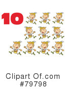 Twelve Days Of Christmas Clipart #79798