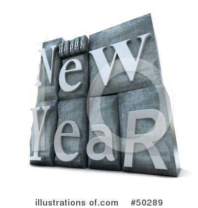 New Year Clipart #50289 by Frank Boston