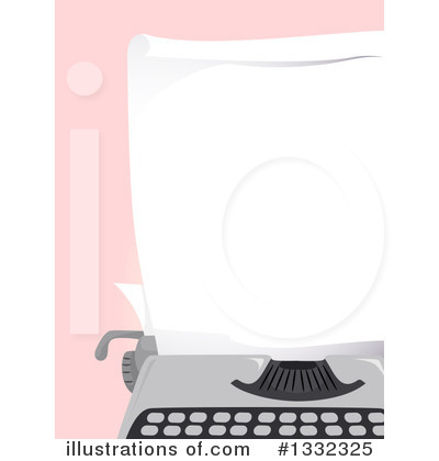 Typing Clipart #1332325 by BNP Design Studio