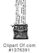 Typewriter Clipart #1376391 by xunantunich