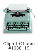 Typewriter Clipart #1638119 by Steve Young