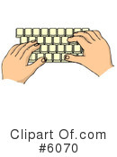 Typing Clipart #6070