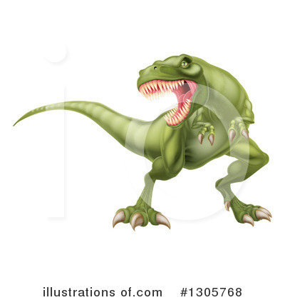 Dinosaur Clipart #1305768 by AtStockIllustration