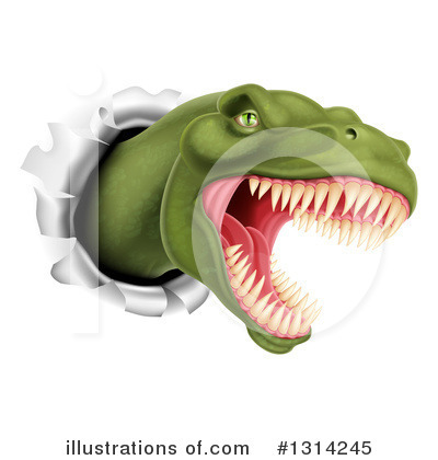 Dinosaur Clipart #1314245 by AtStockIllustration