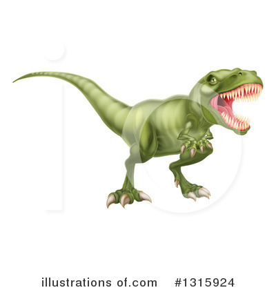 Dinosaur Clipart #1315924 by AtStockIllustration