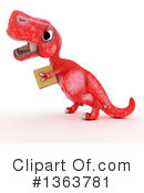 Royalty-Free (RF) Tyrannosaurus Rex Clipart Illustration #1363781