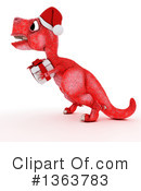 Royalty-Free (RF) Tyrannosaurus Rex Clipart Illustration #1363783