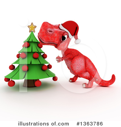 Royalty-Free (RF) Tyrannosaurus Rex Clipart Illustration by KJ Pargeter - Stock Sample #1363786