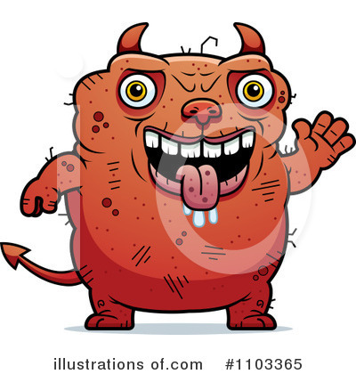 Devil Clipart #1103365 by Cory Thoman