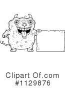 Royalty-Free (RF) ugly devil Clipart Illustration #1129876