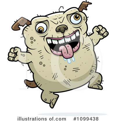 Ugliest  Pictures on Ugly Dog Clipart  1099438 By Cory Thoman   Royalty Free  Rf  Stock