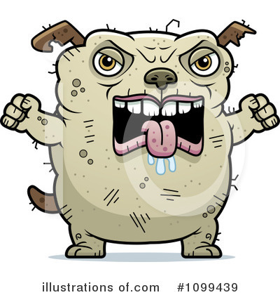Ugly Dog Clipart #1099439 by Cory Thoman