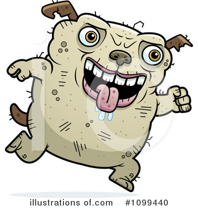 Ugly Dog Clipart #1099440 by Cory Thoman