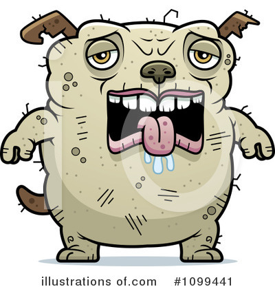 Ugly Dog Clipart #1099441 by Cory Thoman