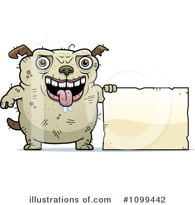 Ugly Dog Clipart #1099442 by Cory Thoman
