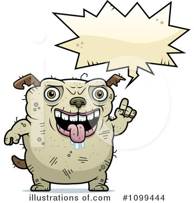 Ugly Dog Clipart #1099444 by Cory Thoman