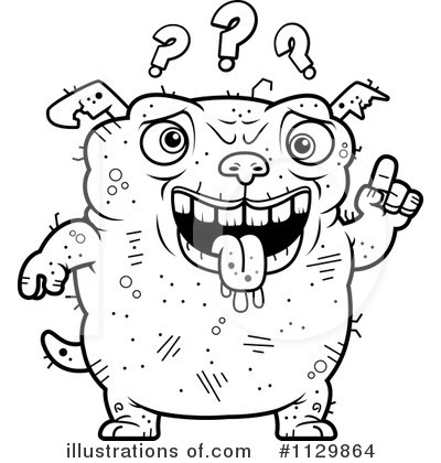 Ugly Dog Clipart #1129864 by Cory Thoman