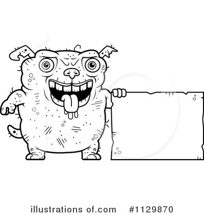 Ugly Dog Clipart #1129870 by Cory Thoman