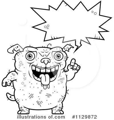 Ugly Dog Clipart #1129872 by Cory Thoman