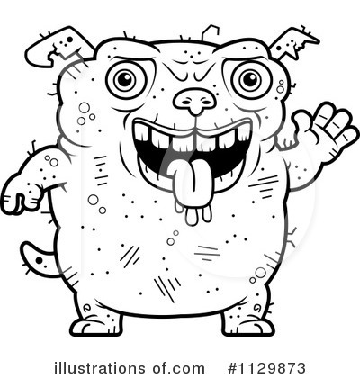 Ugly Dog Clipart #1129873 by Cory Thoman