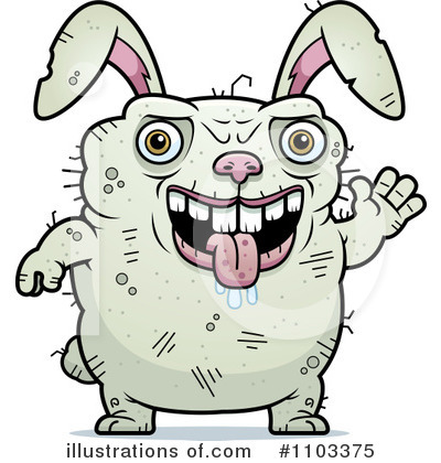 Rabbit Clipart #1103375 by Cory Thoman