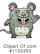 Ugly Rat Clipart #1103353 by Cory Thoman