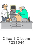 Royalty-Free (RF) Ultrasound Clipart Illustration #231644