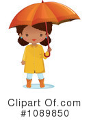 Umbrella Clipart #1089850 by Melisende Vector