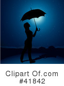 Royalty-Free (RF) Umbrella Clipart Illustration #41842